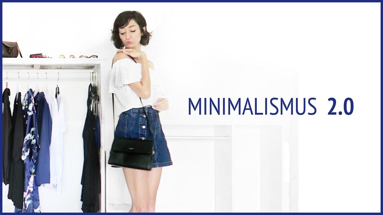 Minimalismus 2 0 kleiderschrank update youtube for Youtube minimalismus