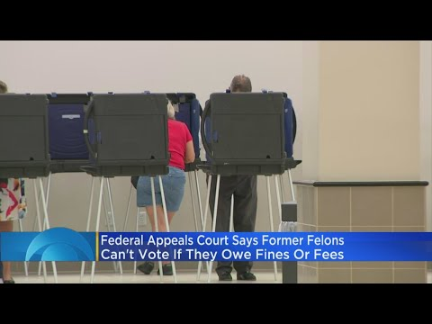 Court Rules Felons Must Pay Off Fines & Fees In Order To Vote