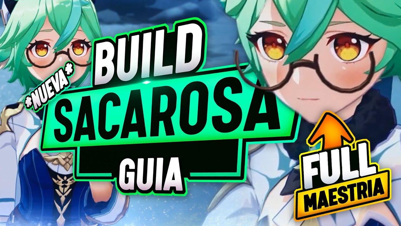 La NUEVA BUILD DEFINITIVA de SACAROSA FULL MAESTRIA - Guia Sucrose SUPPORT - Genshin Impact