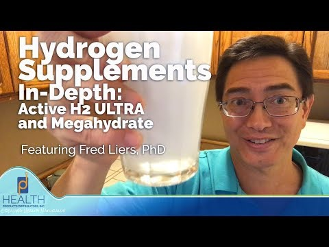 Hydrogen Supplements In-Depth: Active H2 ULTRA and Megahydrate