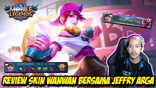 REVIEW SKIN WANWAN BARENG TUKANG PRANK AUTO RUSUH BOS! - Mobile legends