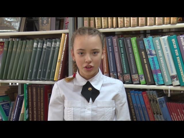 Изображение предпросмотра прочтения – ЕлизаветаЧепик читает произведение «Няне» А.С.Пушкина