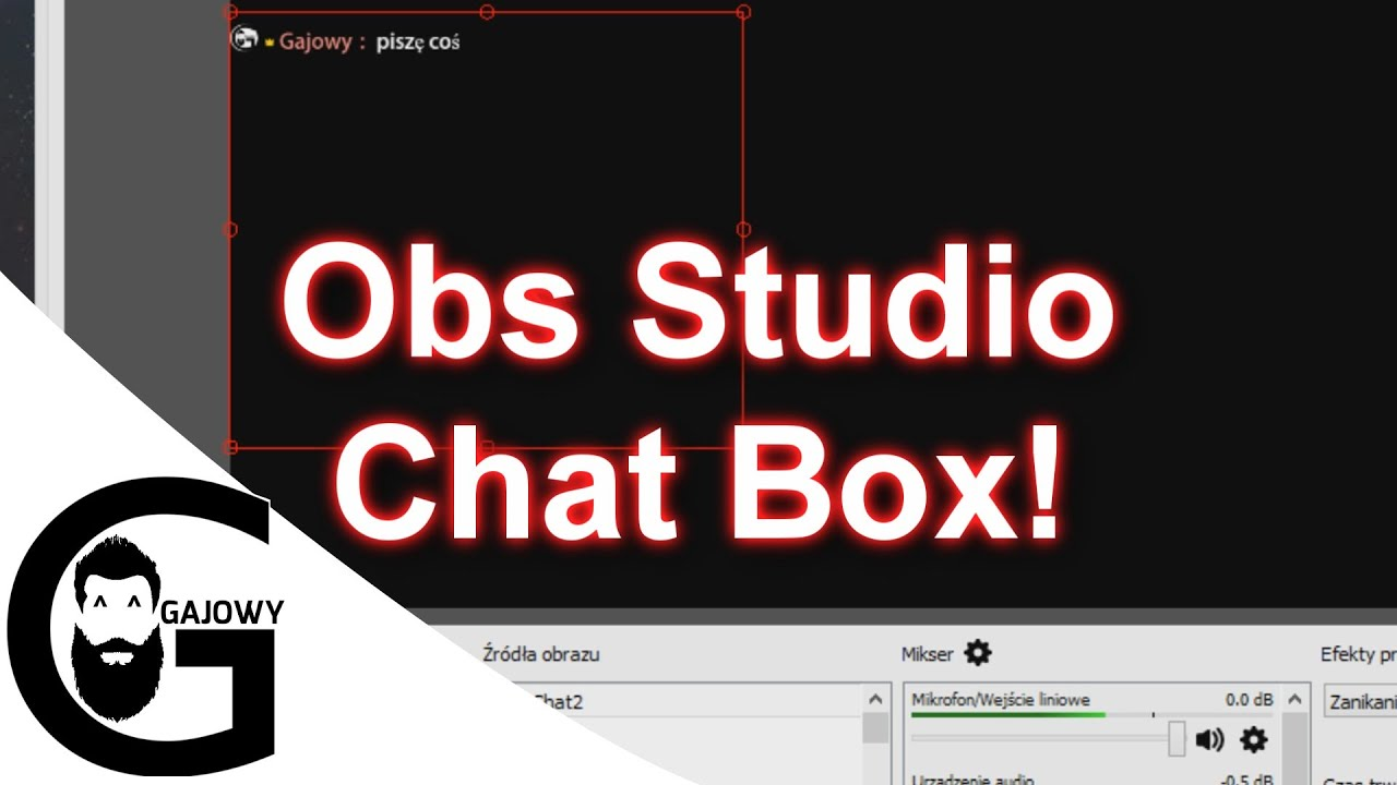 Obs Studio Obs Chat Youtube Poradnik Youtube
