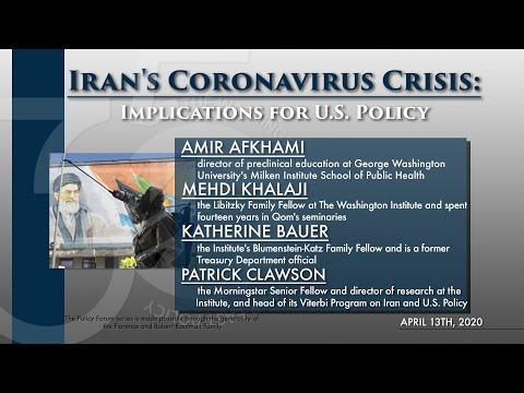Iran's Coronavirus Crisis: Implications for U.S. Policy