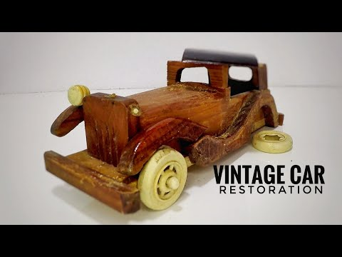 vintage car restore and modified | wooden car | fun hobby craft