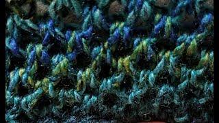 Ewrap inTwo Stitch  Loom Knit