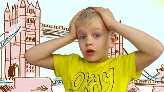 London Bridge Song   Dima pretend Play Nursery Rhymes & kids Songs   Learn English with Simple Song