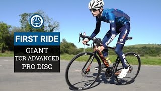 Giant TCR Advanced Disc - First Ride