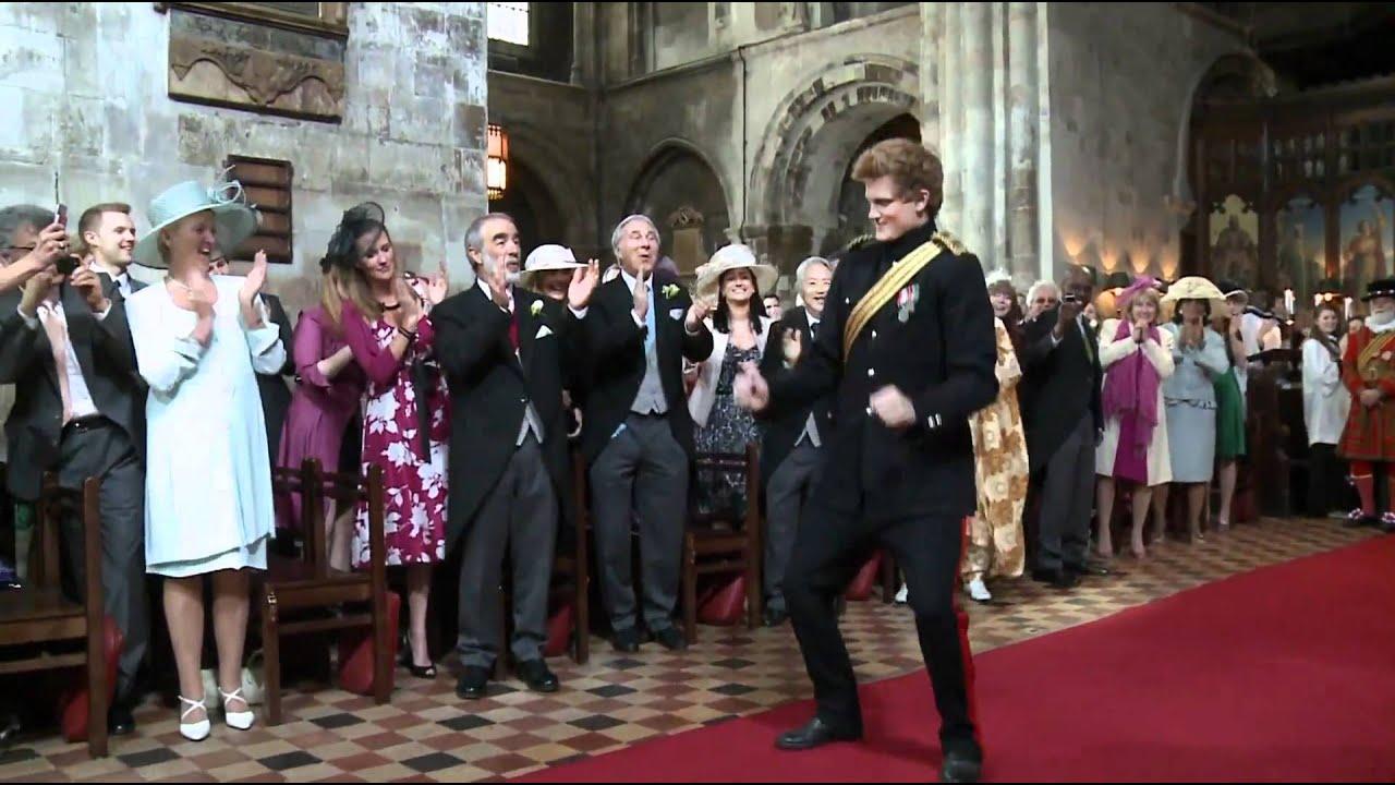 Hochzeit Prinz William Kate Tanzende Royals In Kirche T Mobile