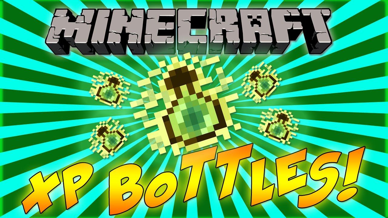 Minecraft: How To Make XP Bottles!! NEW!!!! - YouTube