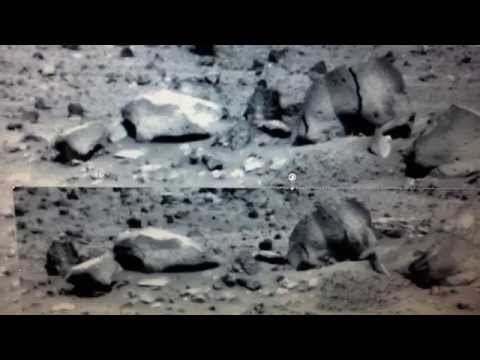 ALIEN MOVING ROCKS ON MARS ?  - NASA Spirit Rover Research Into Anomalies
