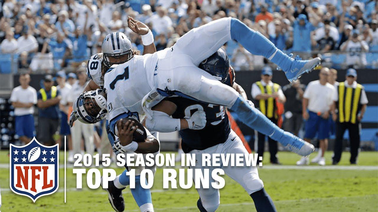 Nfl Cool Plays: Top 10 Runs (2015 Regular Season)