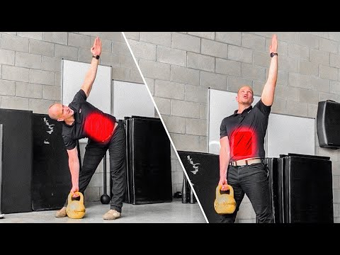 Kettlebell Abs Low Windmill Standing Abs