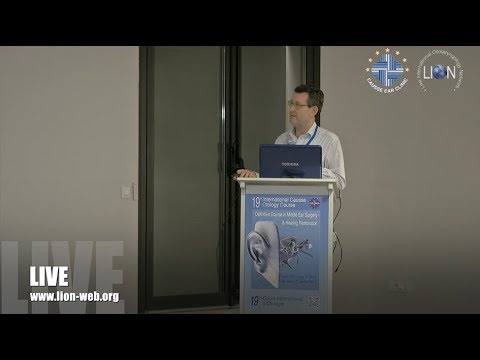 The 19th Causse Otology Course - Lecture: BAHA, Robert Briggs
