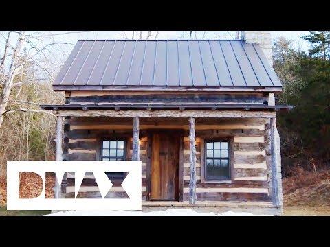 Impressive Log Home Blows Mark Bowe Away | Barnwood Builders