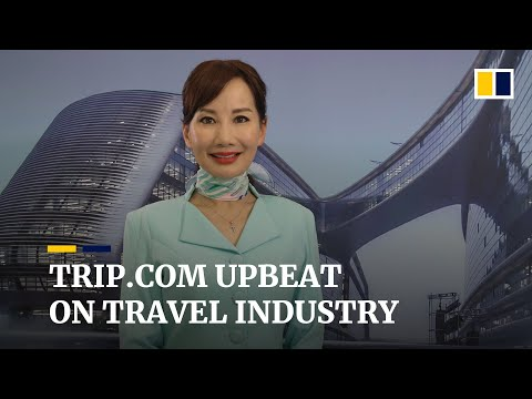 Trip.com CEO positive about travel industry outlook ahead of Hong Kong listing