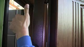 Обзор входной двери в квартиру модель Лондон 1 контур уплотнения