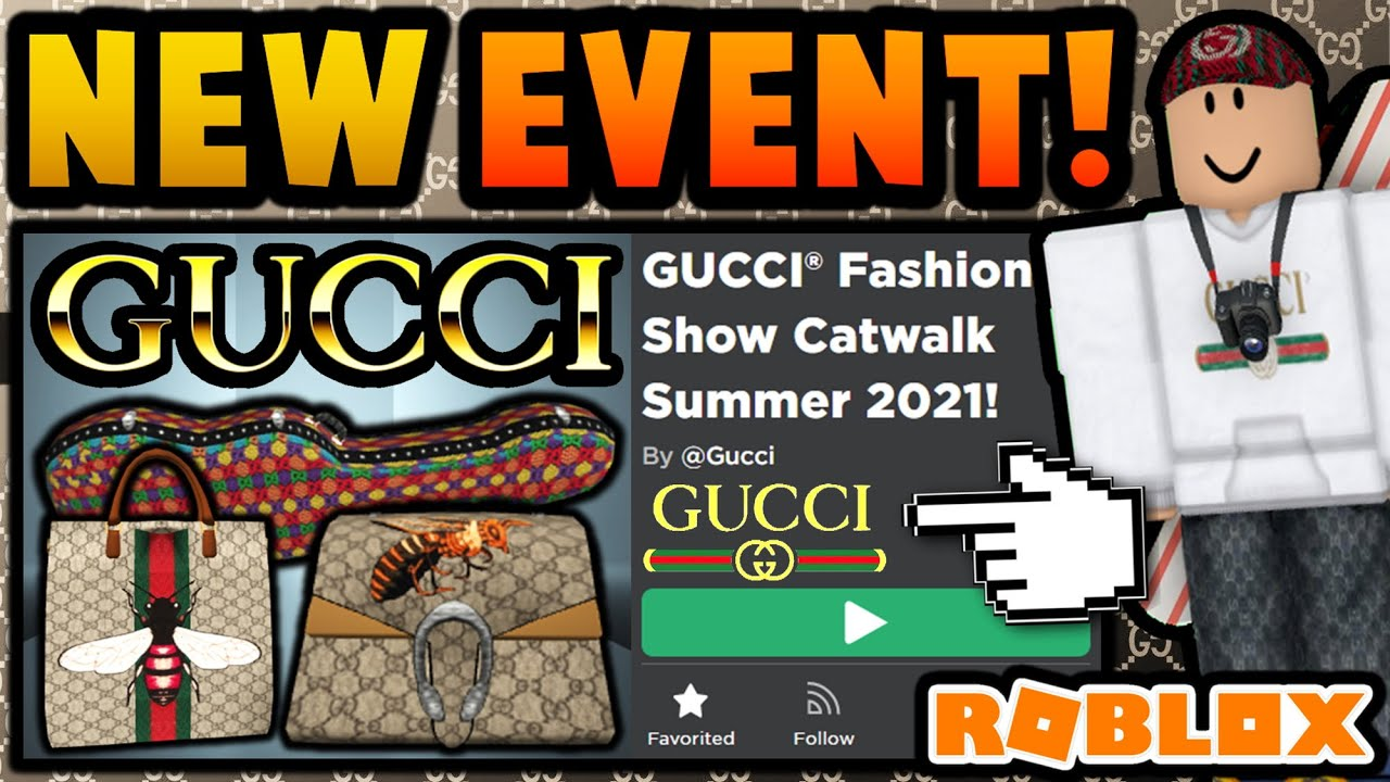 ROBLOX GUCCI EVENT COMING SOON! (PRIZES?)