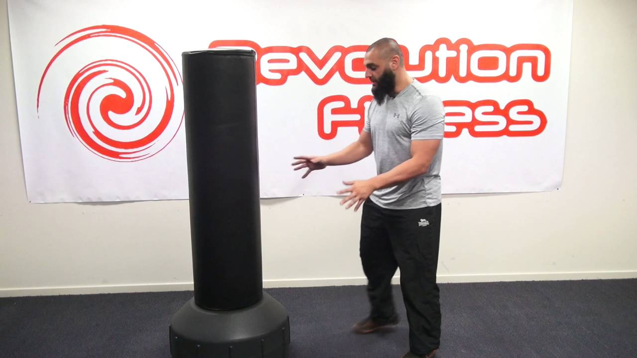 free standing boxing bag youtube