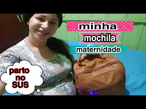 MALA MATERNIDADE DA MAMÃE[PARTO NO SUS]