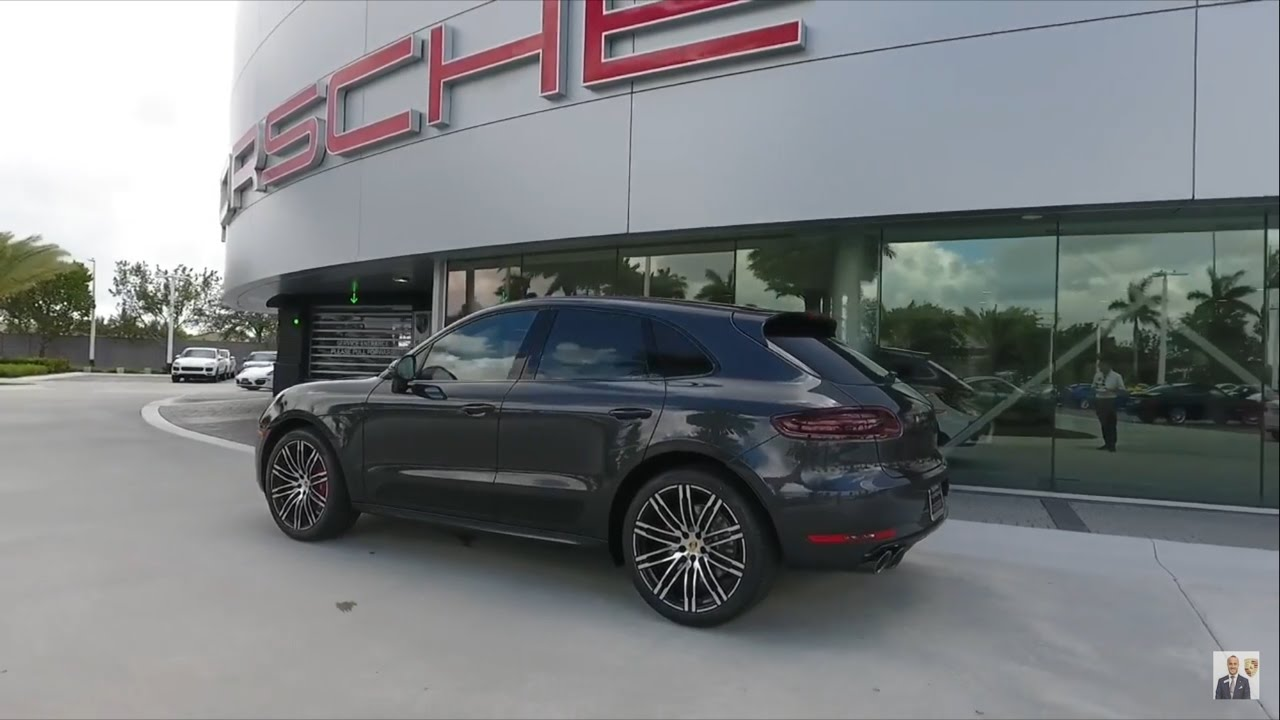 2017 Porsche Exclusive Volcano Grey Porsche Macan Turbo 400 Hp Porsche West Broward Youtube