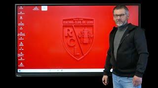 Témoignage sur l'utilisation de l'écran interactif au centre de formation du RC LENS