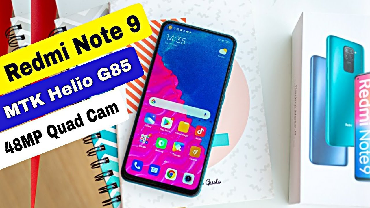 Redmi Note 9 Launching in India With MTK Helio G85 ⚡ Specs, Price Camera, Features | Amit Technology