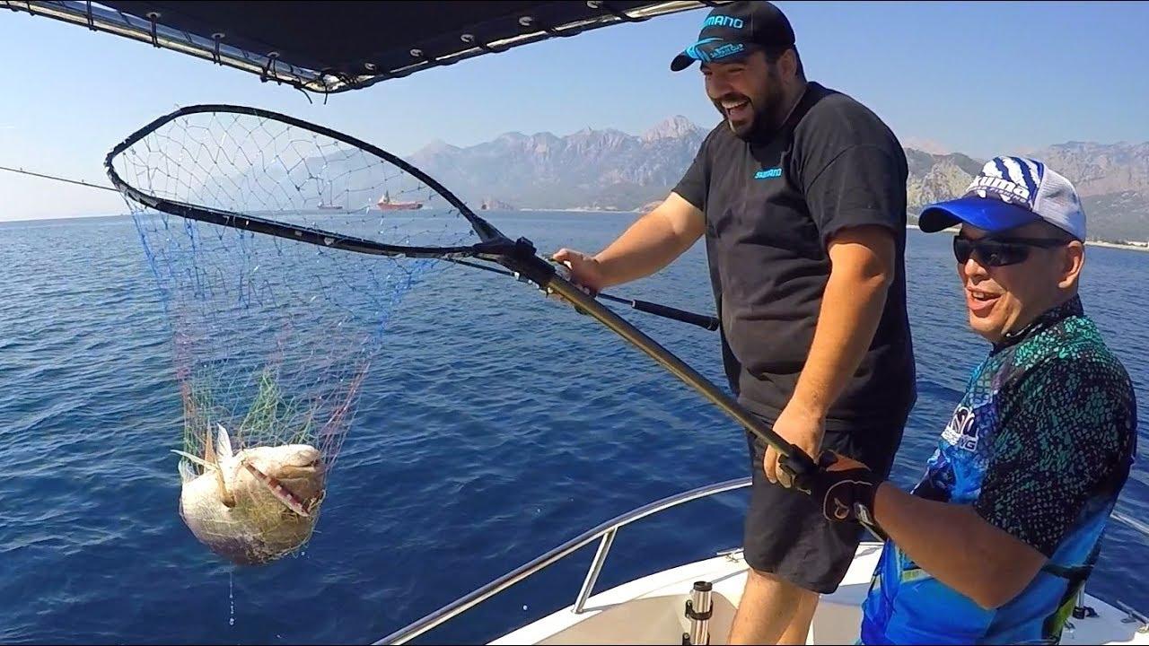 Antalya'nın En Nadir Balığını Yakaladık / Devlerle Dolu Bir Av Günü