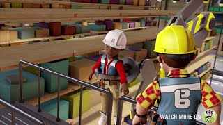 Bob the Builder US 🛠⭐ Leo gets wrapped up! 🛠⭐New Episodes   Cartoons for Kids