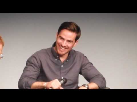 Colin O'donoghue's reaction when Sean Maguire joins the stage at Fairytales IV