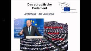 So funktioniert die EU (3)- Funktionsweise der EU und das Zusammenspiel der Institutionen