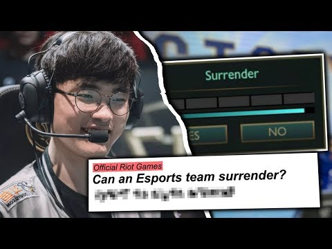 5 Rules You DIDN&39;T KNOW Existed In League of Legends Esports
