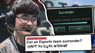 5 Rules You DIDN\'T KNOW Existed In League of Legends Esports