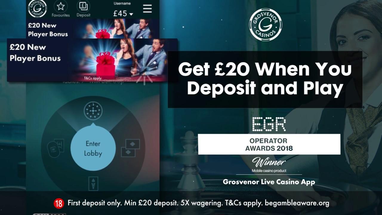 Grosvenor Live Casino App Youtube