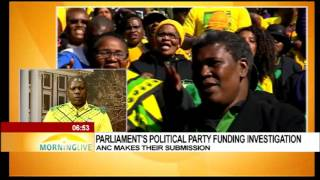 DISCUSSION: Political party funding with ANC TG Zweli Mkhize