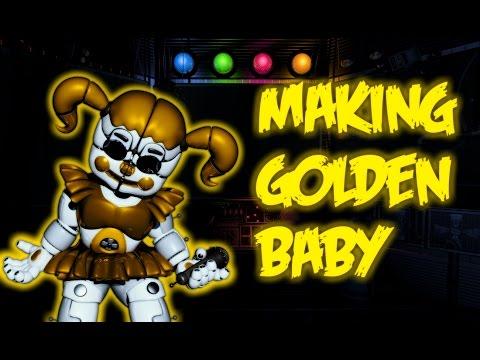 [ FNAF | Speed Edit] - Making Golden Baby!