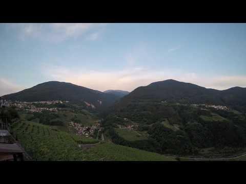 Valle di Cembra - dall'alba al tramonto