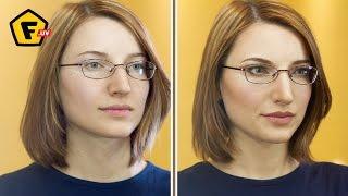 видео Макияж для женщины в очках
