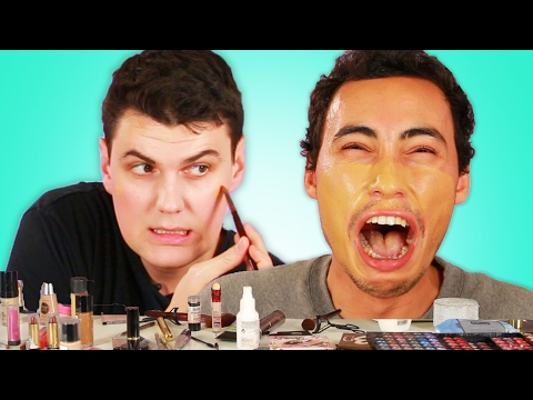 "Men Try The 'No Makeup"" Look"