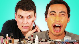 "Men Try The  No Makeup"" Look"