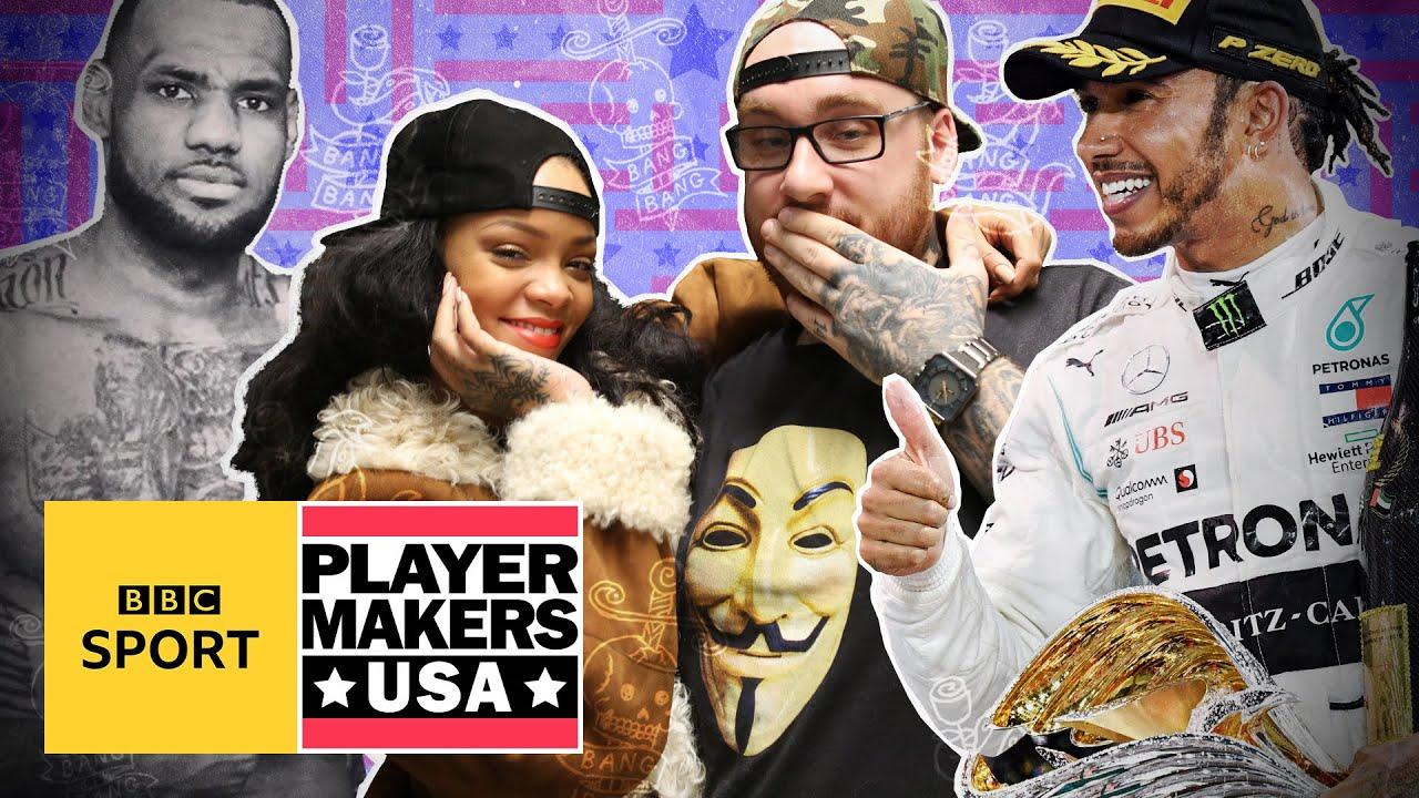 The tattoo artist inking LeBron, Rihanna, Hamilton and Henry | BBC Sport