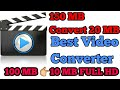 Best video converter to MP3 and MP4 other 100 MB convert to 10 MB