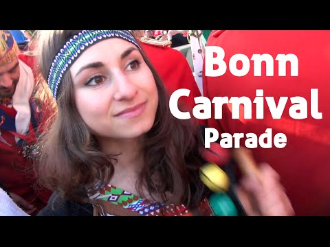 Bonn Carnival Parade - German Carnival