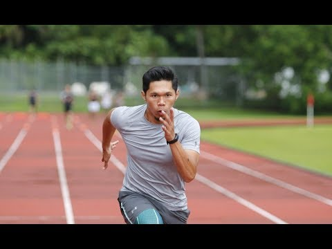 Brunei's fastest man sprinting for a spot in the Tokyo Olympics