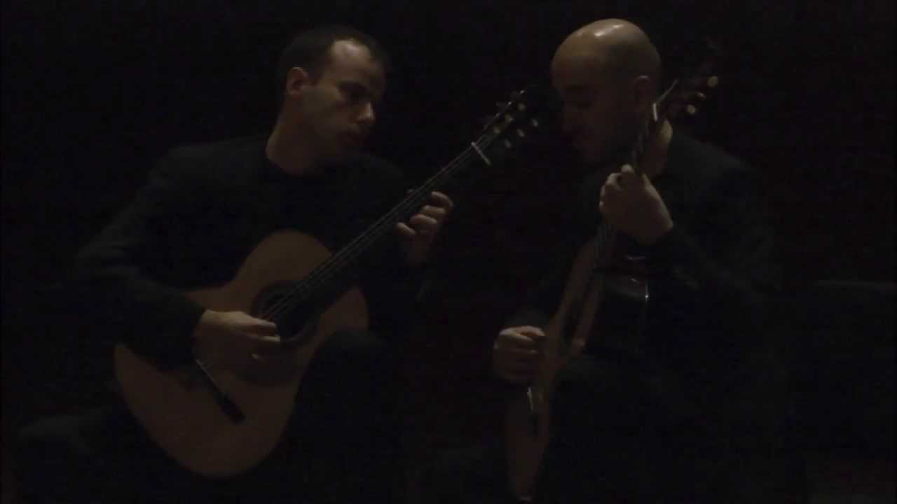 SoloDuo at CU Guitar Festival: Ferdinand Rebay, Variations on a Sarabande by Händel