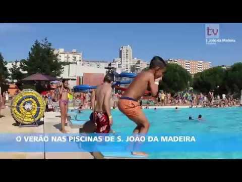 O Verão nas Piscinas de S. João da Madeira
