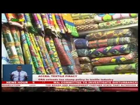 Accra: GRA extends tax stamp policy to textile industry