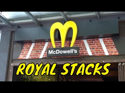 COMING TO AMERICA POP UP MCDOWELL'S RESTAURANT ROYAL STACKS MELBOURNE AUSTRALIA