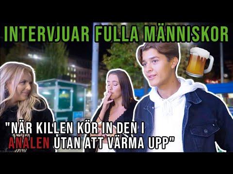 SJUKA INTERVJUER MED FULLA MÄNNISKOR