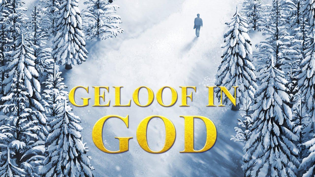 Christelijke film 'Geloof in God' Het openbaren van de ware betekenis van het geloof in God